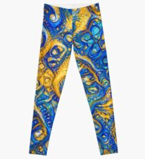 Deep Dream abstraction Leggings
