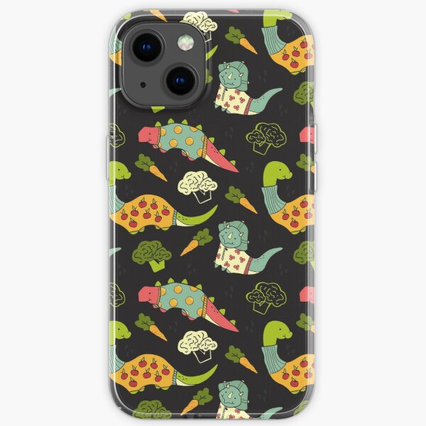 Eat Your Veggies in Brights iPhone Soft Case