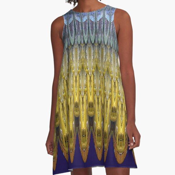 Suleymaniye Pattern A-Line Dress