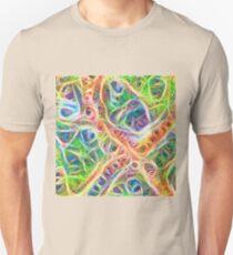 Neural network motif Slim Fit T-Shirt