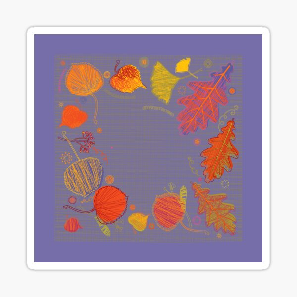Beautiful Autumn Sticker