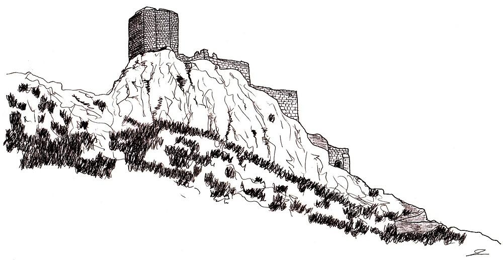 « Le château de Quéribus (Corbières, Aude, Pays cathare, Occitanie, France) » par Philippe Contal