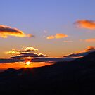 Mountain Sunset by Richard Skoropat