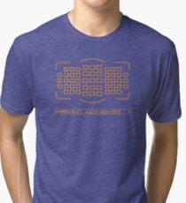 Photographer camera viewfinder Tri-blend T-Shirt