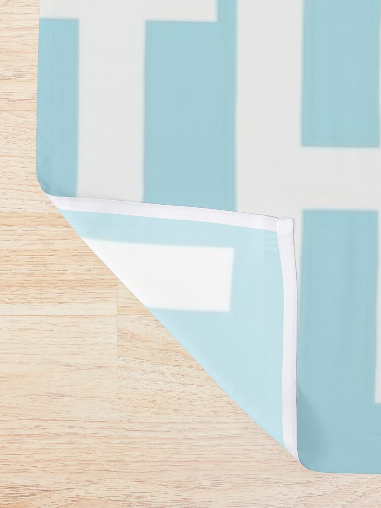 Alternate view of Pastel Saturdays are for the girls  Shower Curtain