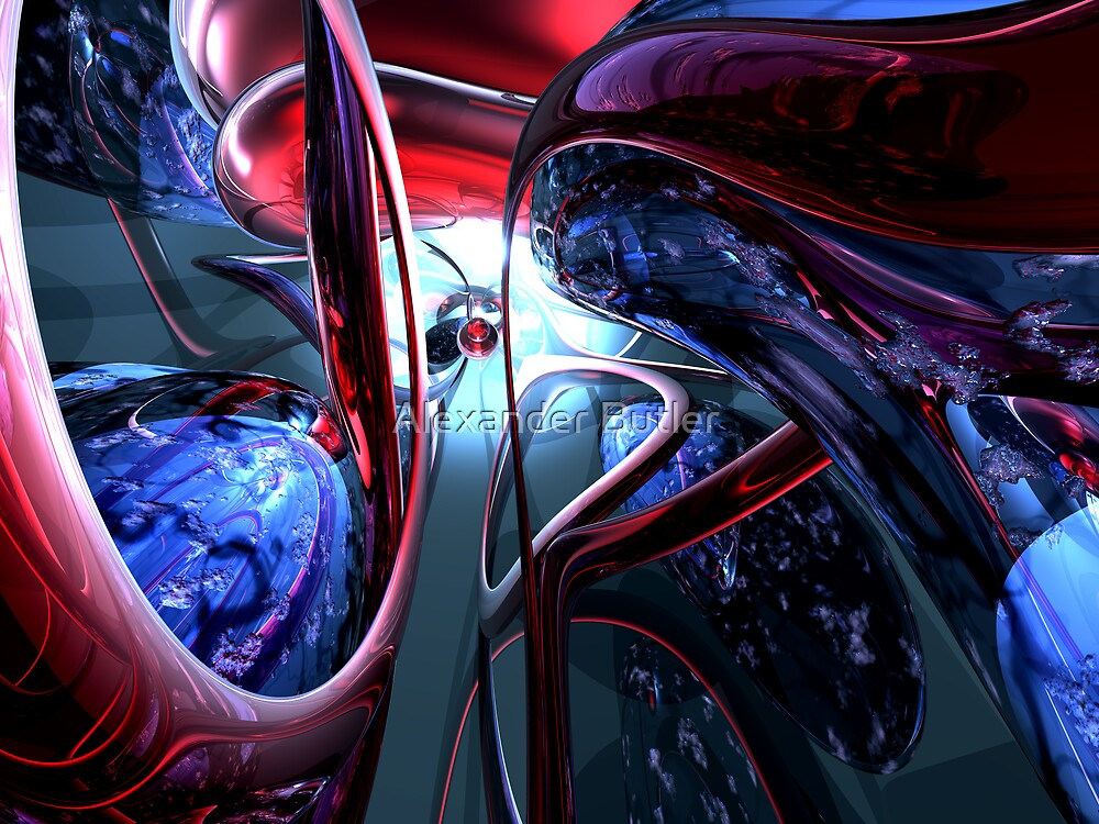 Decadence Abstract by Alexander Butler