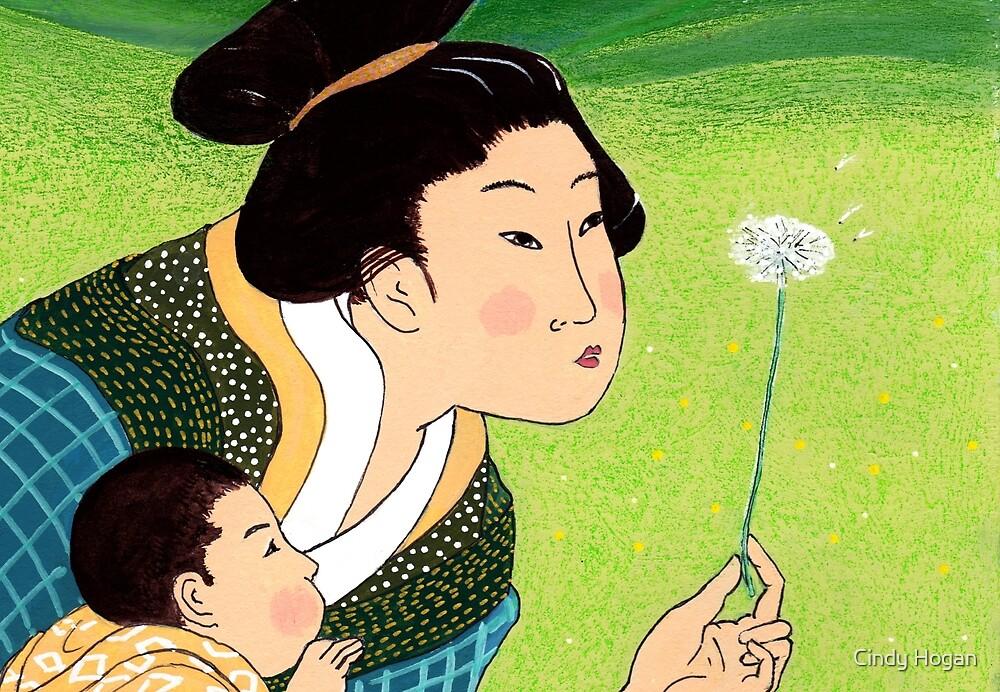 Mrs Hokusai and the Dandelion Wish by Cindy Hogan