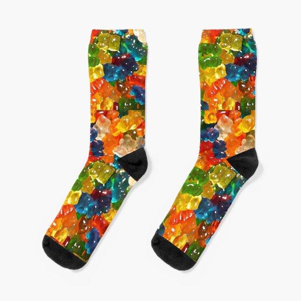 Gummy Bears by Squibble Design Socks