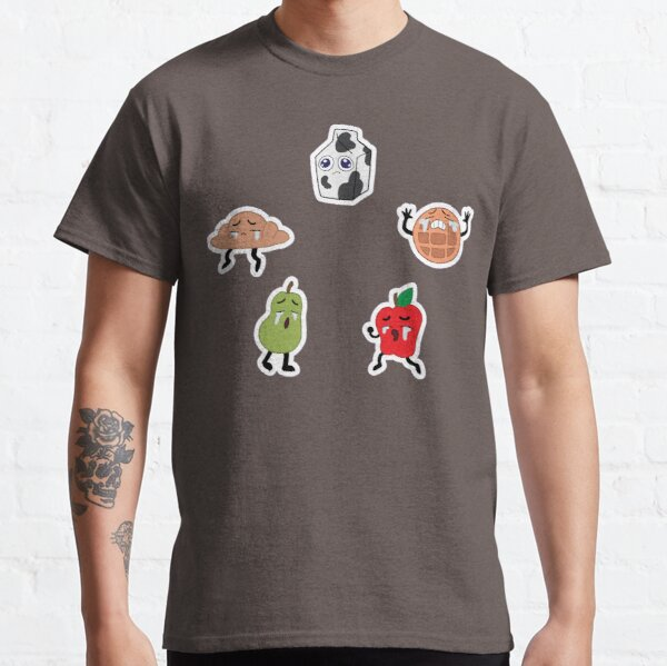 Crying Breakfast Friends Classic T-Shirt