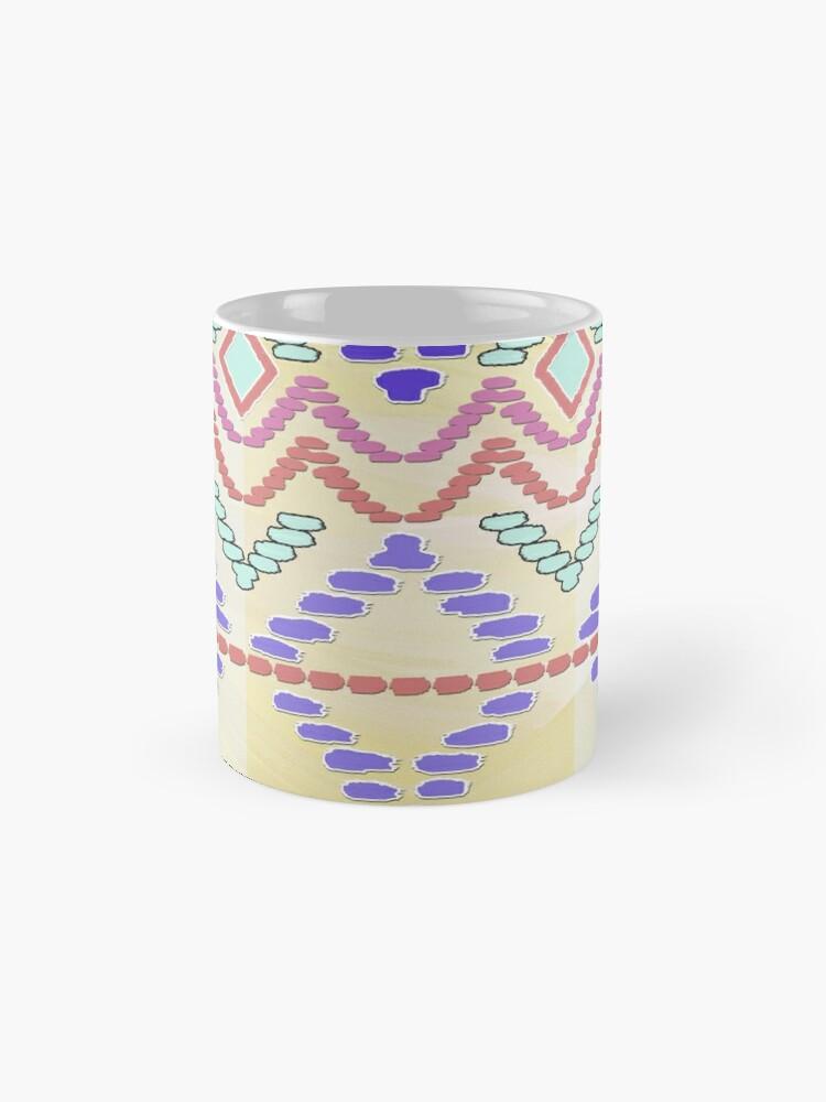 Alternate view of Pastel Tribal Pattern Mug