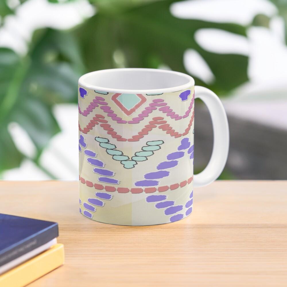 Pastel Tribal Pattern Mug