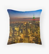 View From 30 Rock Throw Pillow