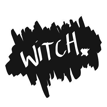 Halloween - Witch Scruff by jenbewonderland