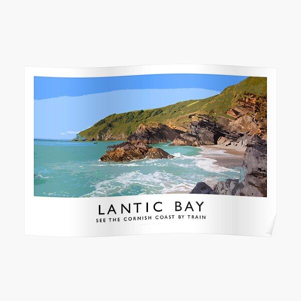 Lantic Bay (Railway Poster) Poster
