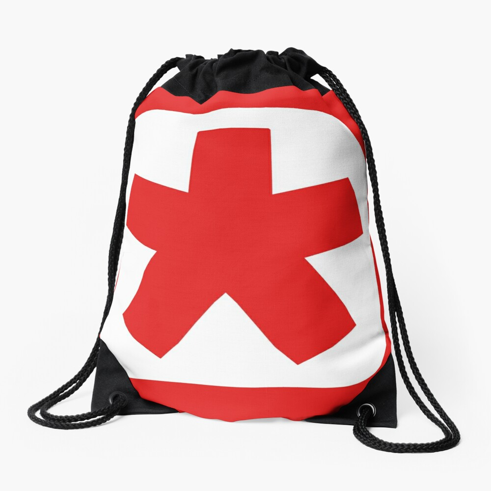 Choose the color of your clan (plain white) Drawstring Bag