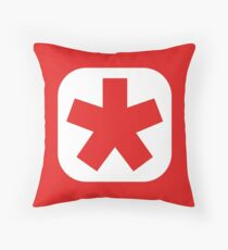 Choose the color of your clan (plain white) Throw Pillow