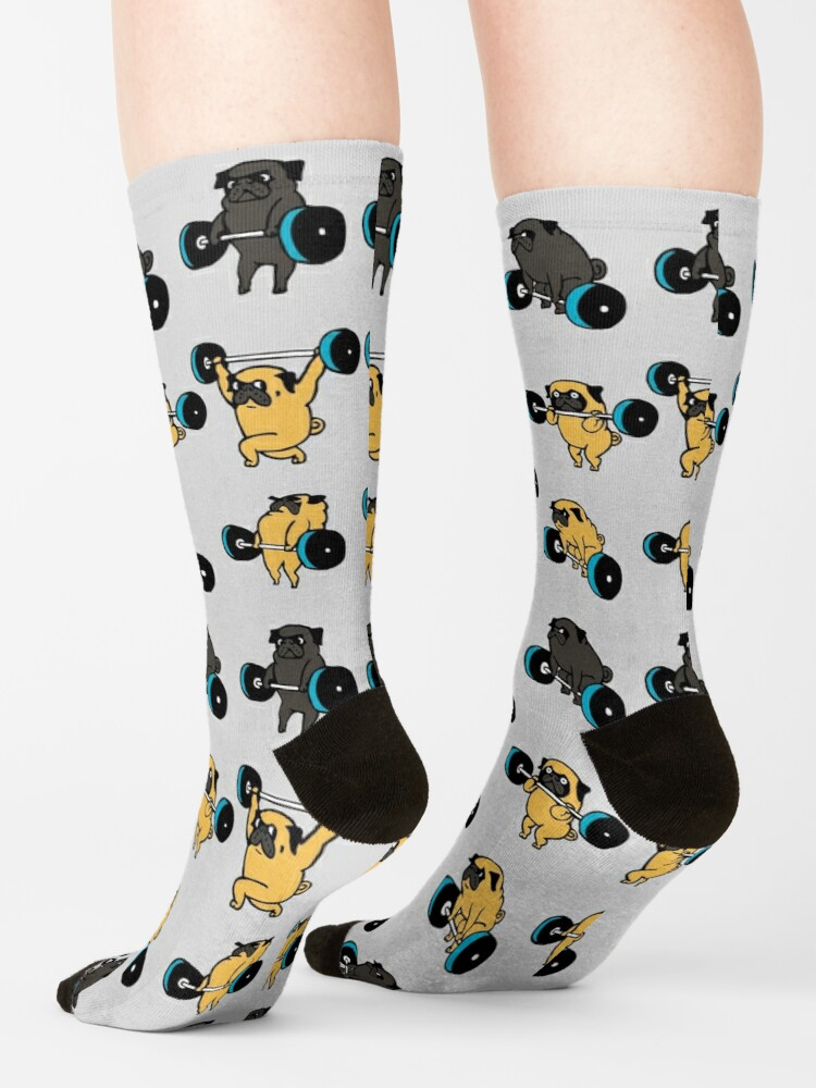 Alternate view of OLYMPIC LIFTING PUGS Socks