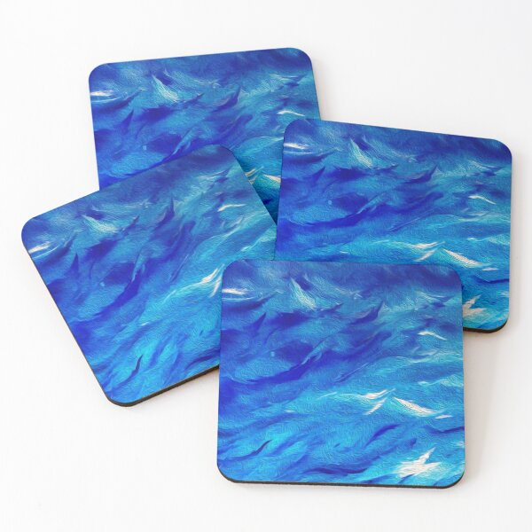 The Waves Coasters (Set of 4)