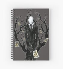 Slenderman III Spiral Notebook