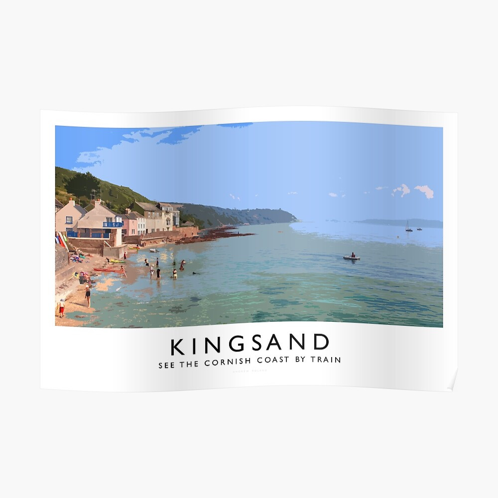Kingsand (Railway Poster) Poster