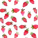 Strawberry Stawberries by Aurora Gritti