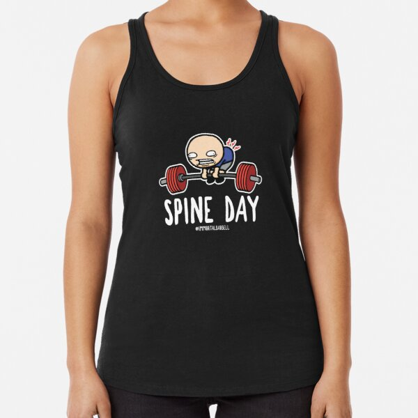 Spine Day Racerback Tank Top