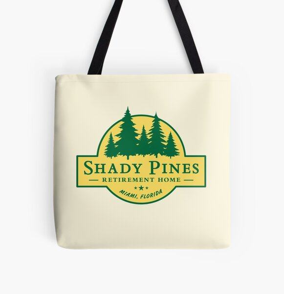 Shady Pines Retirement Home – The Golden Girls All Over Print Tote Bag