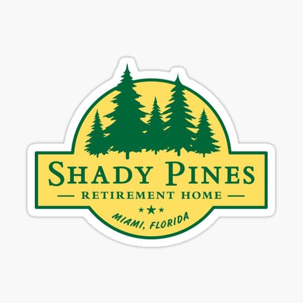 Shady Pines Retirement Home – The Golden Girls Sticker