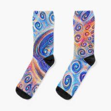 #Deepdreamed Abstraction Sock