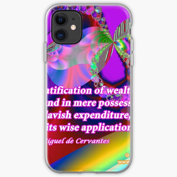 The Gratification Of Wealth iPhone Soft Case