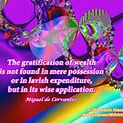 The Gratification Of Wealth by empowerwithart