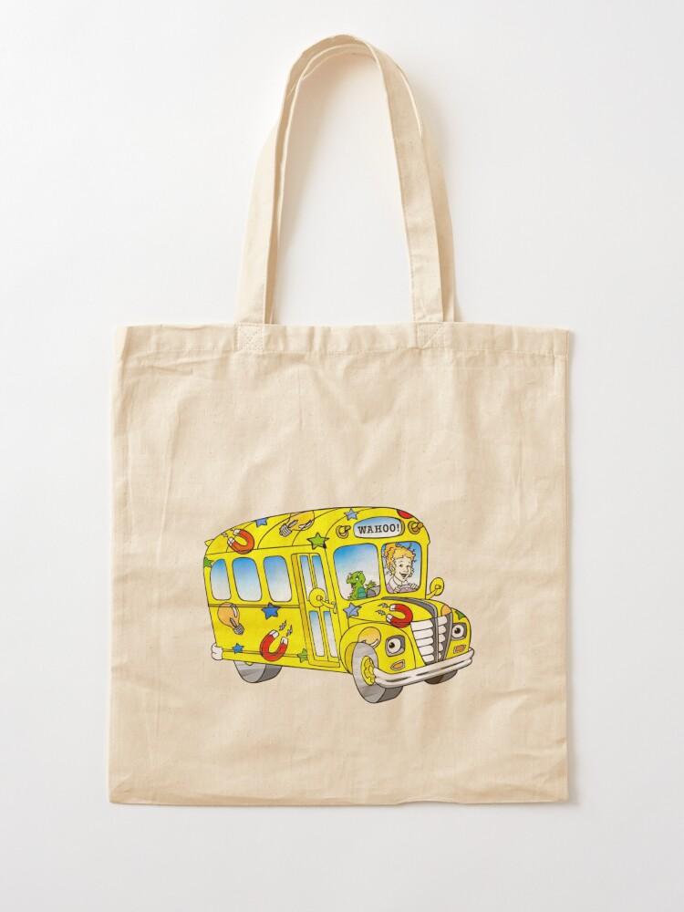 Alternate view of The magic school bus Tote Bag