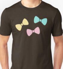 Pastel Bows Unisex T-Shirt