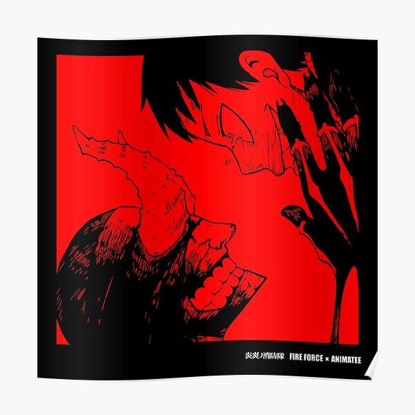 Fire Force - Les démons Poster
