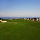 Taba Heights Golf Resort Hole 7 Par 4 by Helen Shippey