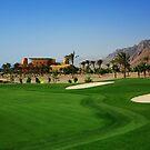 Taba Heights Golf Resort Hole 18 Par 4 by Helen Shippey