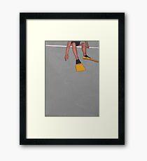 Flipper Framed Print