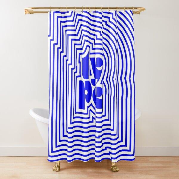 Type junkie Shower Curtain