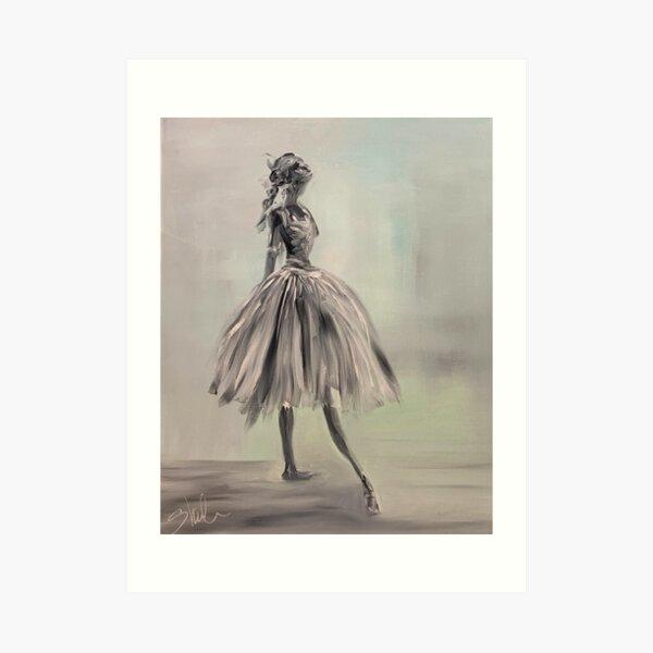 Bella Ballerina Art Print