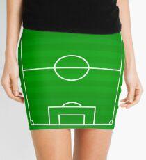 Football Soccer Pitch Ground | Football Soccer Art Mini Skirt