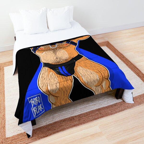 ADAM LIKES HARNESS - BLUE Comforter