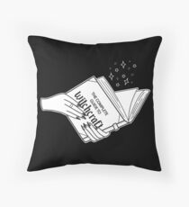 Complete Guide To Witchcraft  Throw Pillow