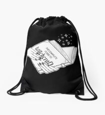 Complete Guide To Witchcraft  Drawstring Bag