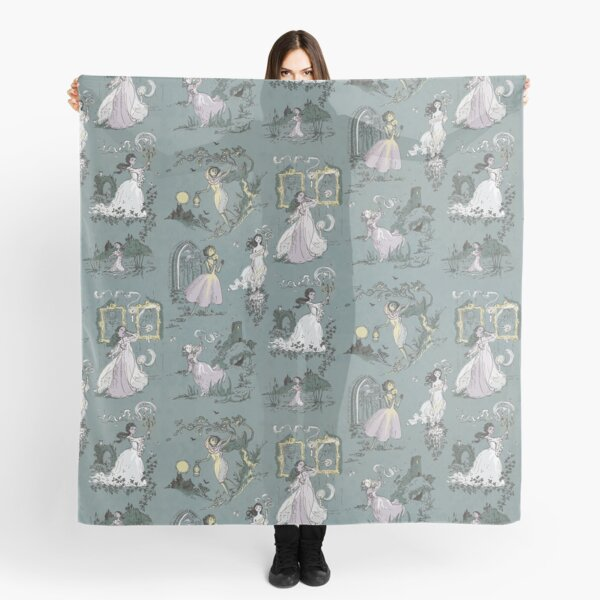 Girls Running From Houses Scarf