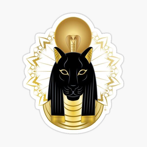 The egyptian goddess Sekhmet Sticker