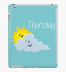 Thursday iPad Case/Skin