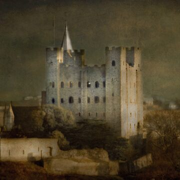 Rochester Castle by CatherineV