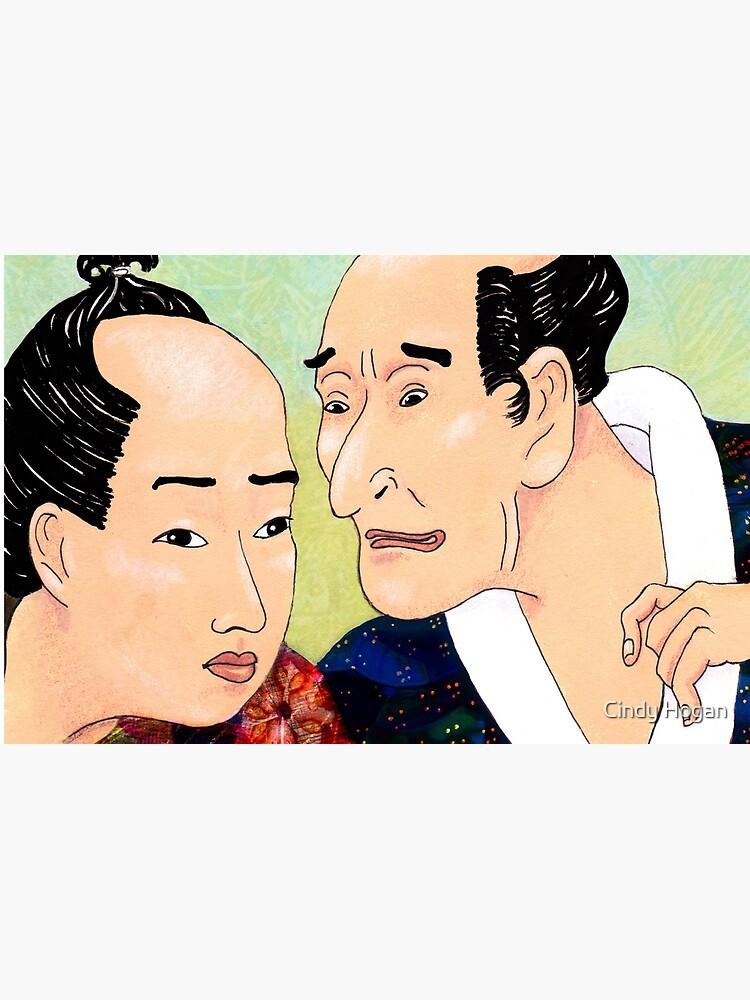 Mr Hokusai and Mr Hiroshige by artforthesoul