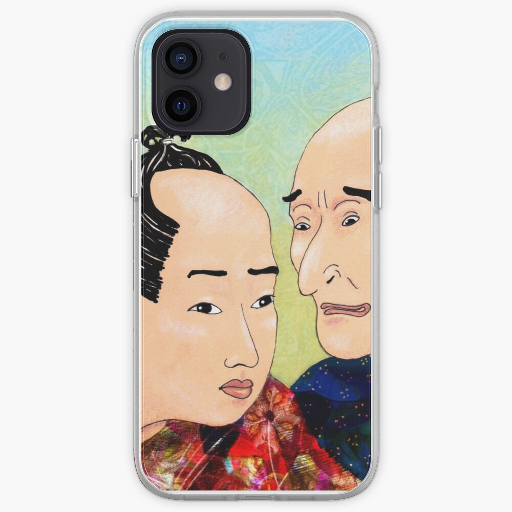 Mr Hokusai and Mr Hiroshige iPhone Case & Cover