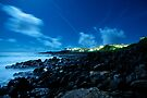 night on hawaiian shores by Flux Photography